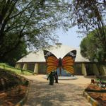Indien Bangalore Butterfly Park, Haupteingang, Foto Ute Boysen